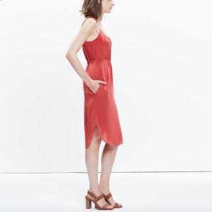 Madewell   silk dress